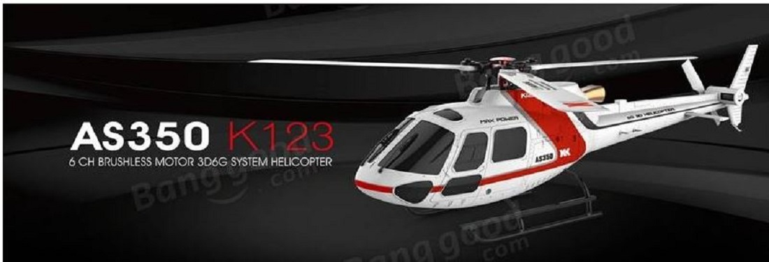 XK K123 6CH Brushless RC Helicopter