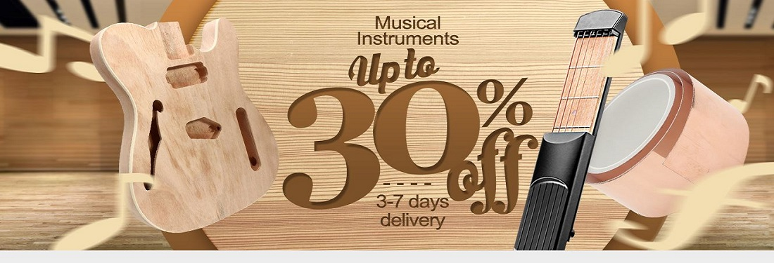 Musical Instrument 30 % OFf