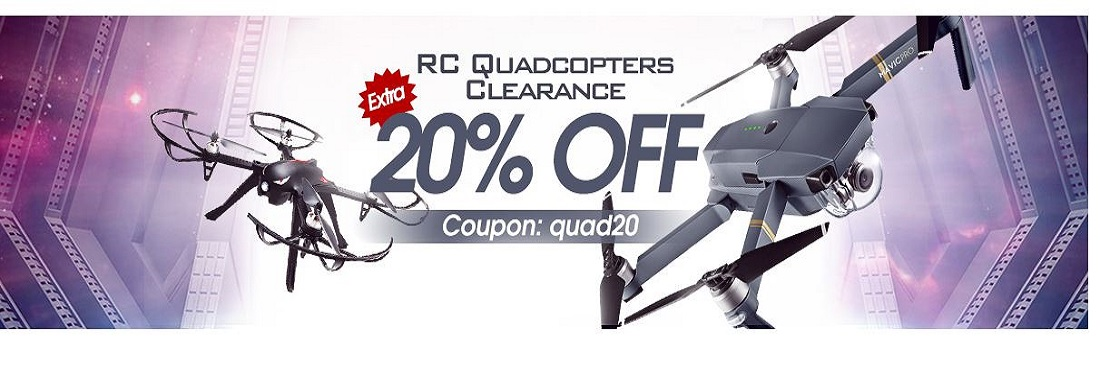 RC Quadcopters Clearance Big Promotion