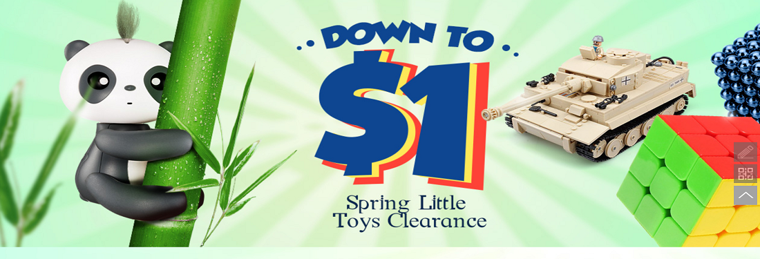 Spring Little Toys Clearance